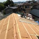 屋面防水施工步骤 如何在4/12节距上建造木桁架