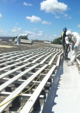 屋面防水聚脲施工