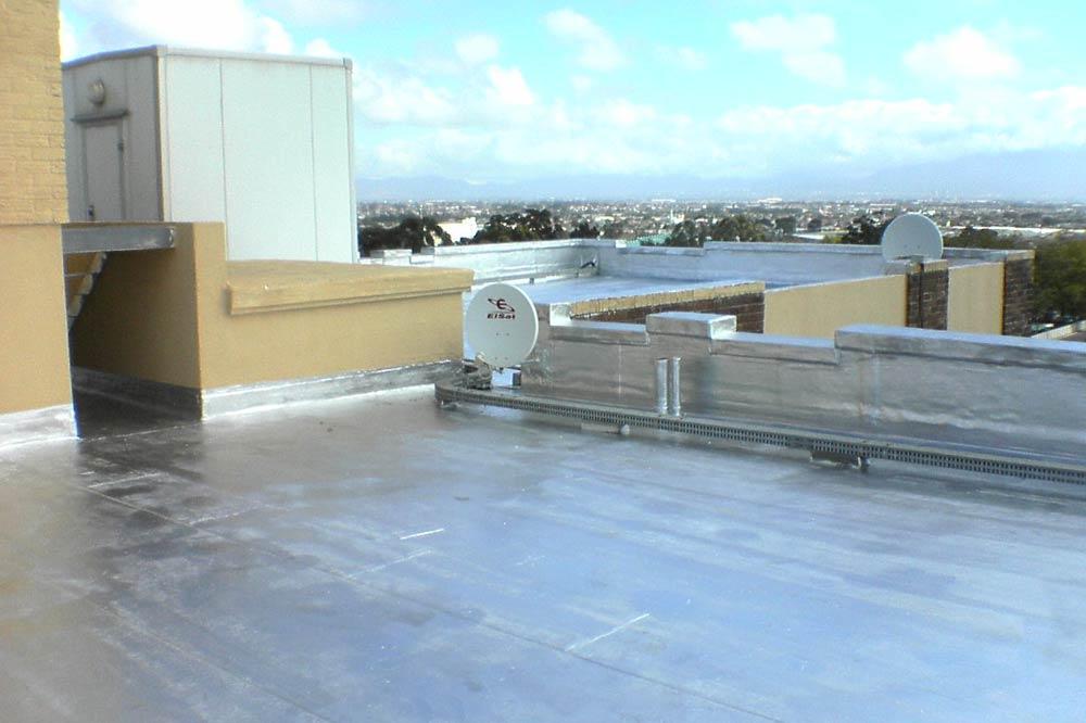 商业屋顶防水补漏