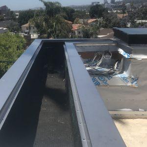 防水板金属屋顶