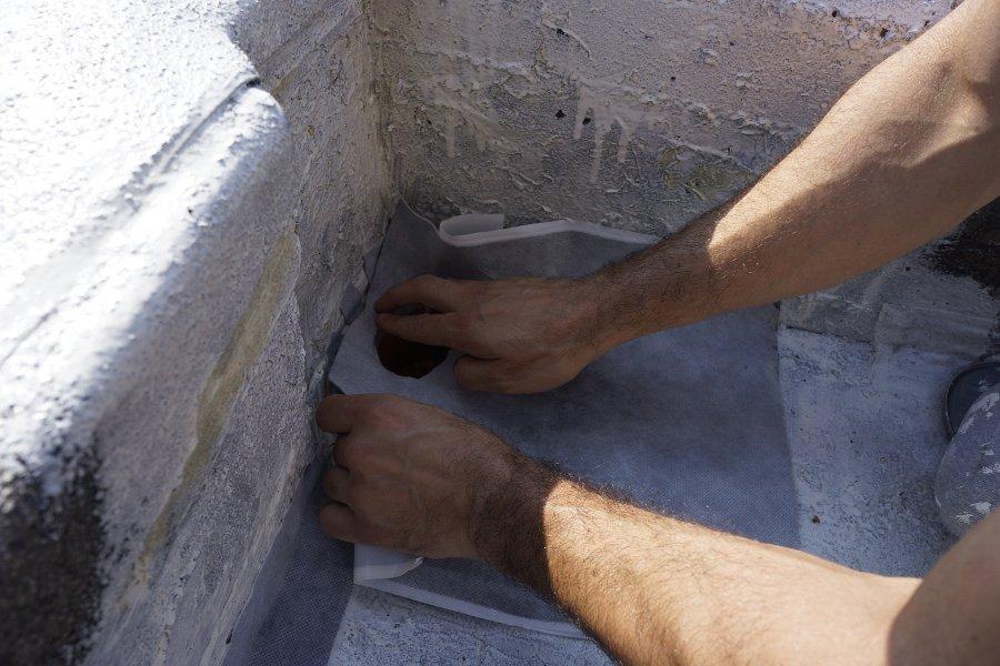 平房屋顶漏水